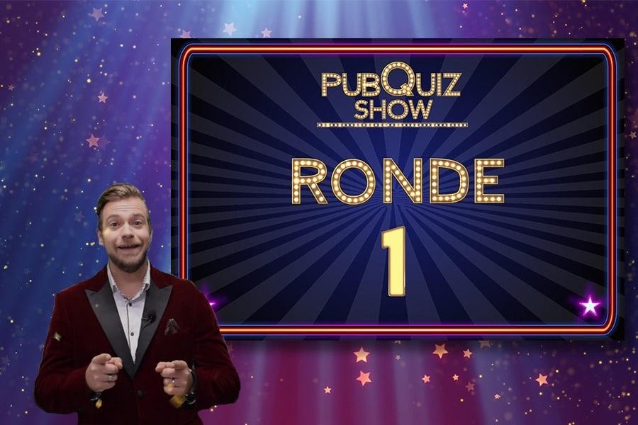 Online Quiz Show voorbeeld